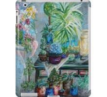 Table of a Plant Lover iPad Case/Skin