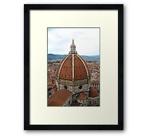 Il Duomo Cathedral Florence Framed Print
