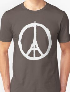 Peace for Paris - white - paix pour Paris - Pray T-Shirt