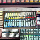 NeoArt Wax Pastels:Tools of the Trade by © Angela L Walker