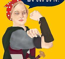 Feminist Icon; Eowyn The Riveter by CiipherZer0