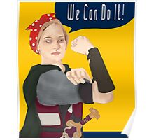 Feminist Icon; Eowyn The Riveter Poster