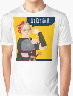 Feminist Icon; Eowyn The Riveter Graphic T-Shirt