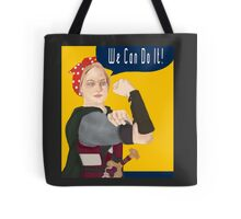 Feminist Icon; Eowyn The Riveter Tote Bag