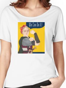 Feminist Icon; Eowyn The Riveter Women's Relaxed Fit T-Shirt
