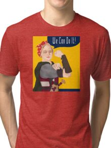 Feminist Icon; Eowyn The Riveter Tri-blend T-Shirt