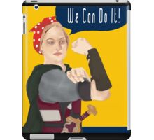 Feminist Icon; Eowyn The Riveter iPad Case/Skin