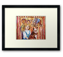 Red Nose Required Framed Print