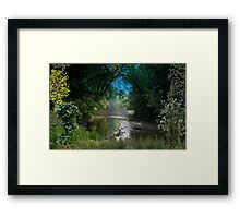 2316-Johns Creek at the Other End Framed Print