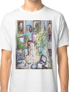 Table of an Art Enthusiast Classic T-Shirt