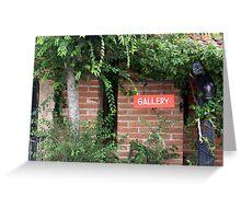 Gallery Vines Greeting Card