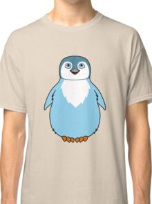 Light Blue Baby Penguin Classic T-Shirt
