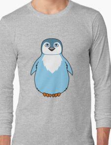 Light Blue Baby Penguin Long Sleeve T-Shirt