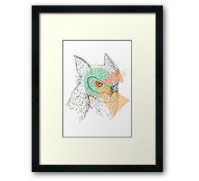 Simplistic Owl Framed Print