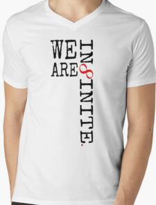 We Are Infinite. Mens V-Neck T-Shirt