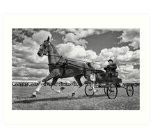 One Horse Power Art Print