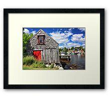 Herring Cove, Nova Scotia Framed Print