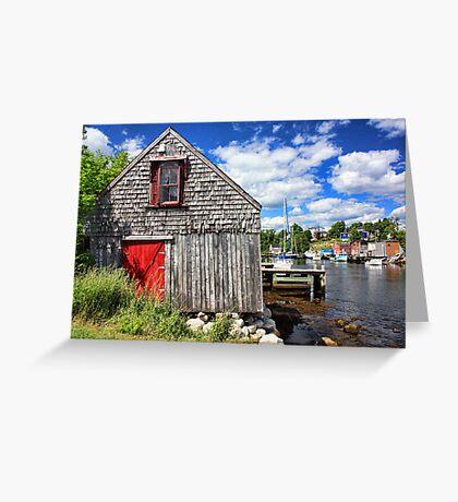 Herring Cove, Nova Scotia Greeting Card