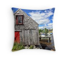 Herring Cove, Nova Scotia Throw Pillow