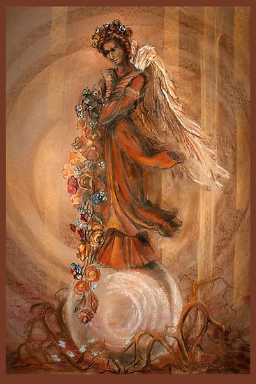 Raphael the Archangel by Natalia Lvova