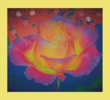 Rose color blast Baby Tee
