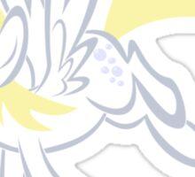 Derpy - Halfcolor Sticker