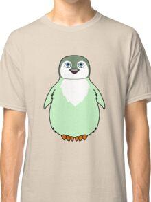 Light Green Baby Penguin Classic T-Shirt