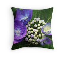 Bouquet of Buds Throw Pillow