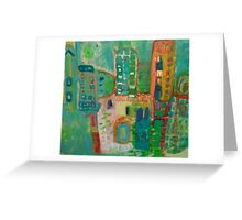 city #7 Greeting Card