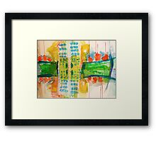 city#9 Framed Print
