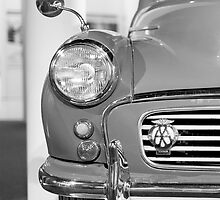 Morris Minor classic car iPhone case by Martyn Franklin