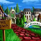 RPG Town by LightningArts