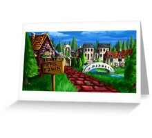 RPG Town Greeting Card