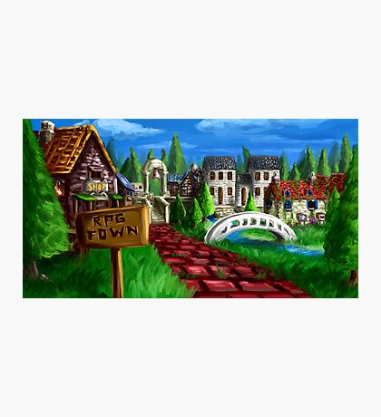 RPG Town Photographic Print