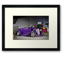 Greg South's 1928 Ford Roadster Framed Print