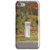 Vintage Traffic Bollard iPhone Case/Skin