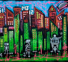 Robo World - City of Secrets by Laura Barbosa