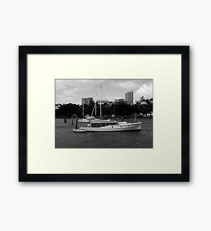 Bay Cruiser Framed Print