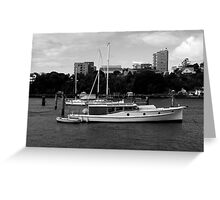 Bay Cruiser Greeting Card