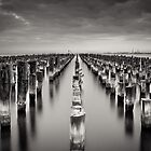 Old Princes Pier by Christine  Wilson