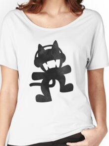 Smoke cat Women's Relaxed Fit T-Shirt
