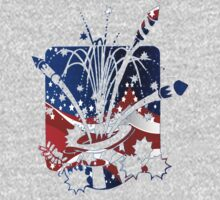 USA Flag And Celebration Symbols by artonwear