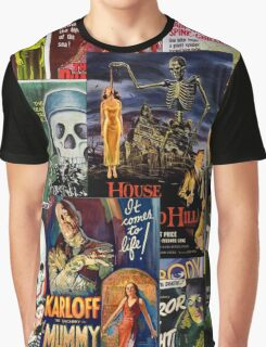 Monster Movies Graphic T-Shirt