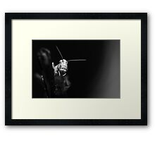 From the dark it came Framed Print