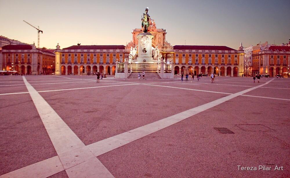 Terreiro do Paço. Lisbon by terezadelpilar~ art & architecture