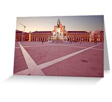 Terreiro do Paço. Lisbon Greeting Card
