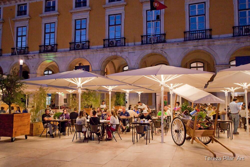 esplanada praça do comércio. by terezadelpilar ~ art & architecture