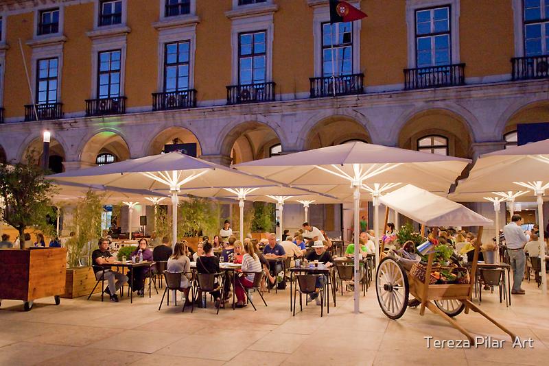 esplanada praça do comércio. by terezadelpilar~ art & architecture
