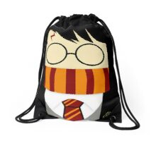 Harry potter cute face Drawstring Bag