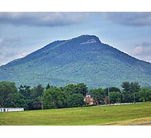 Short Mountain Photographic Print